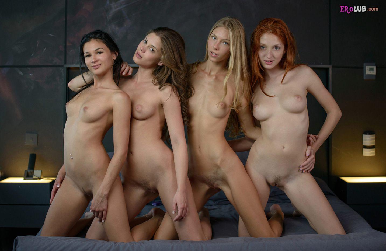 Русские лесбиянки устроили вечеринку 7 фотография