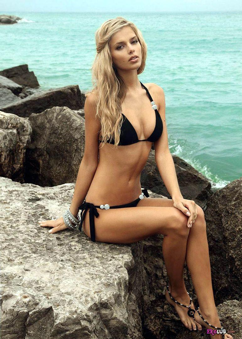 Фото красивых девушек 18 на пляже 9 фотография