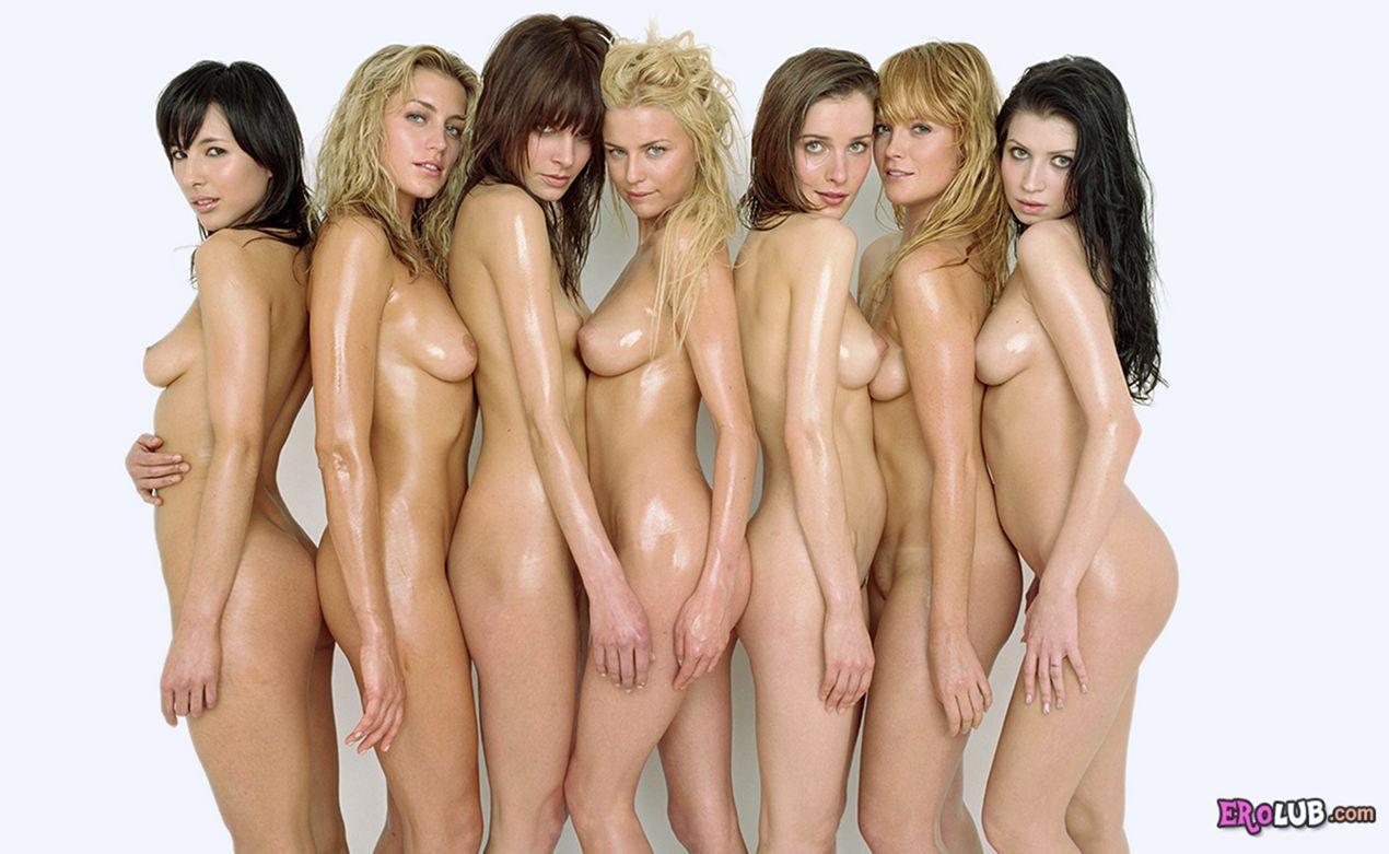 Фото голых девушек много фото 194-40