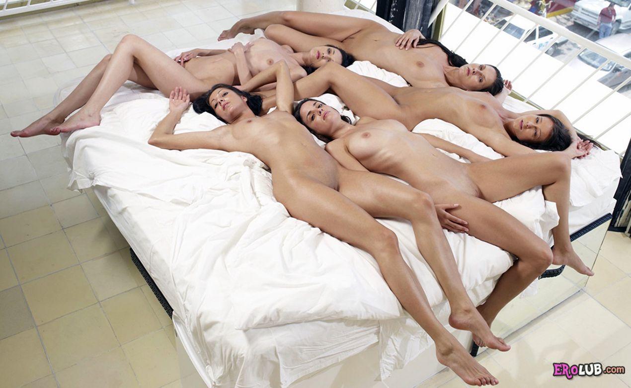 пять мужиков одна девушка бесплатно