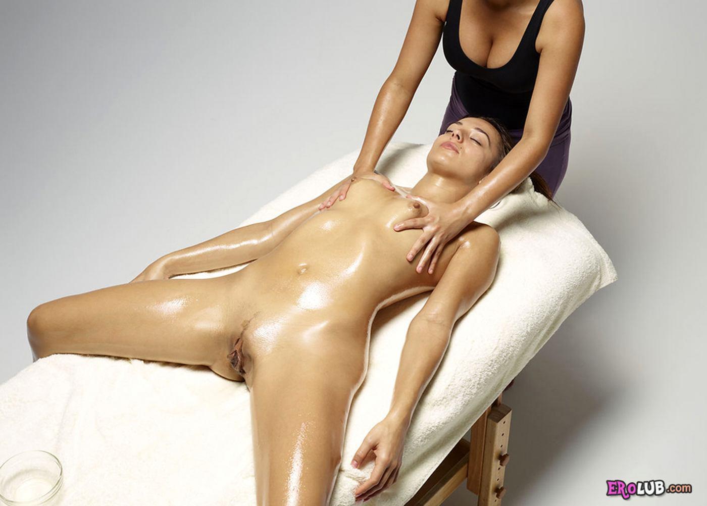 порно массаж масло в попа