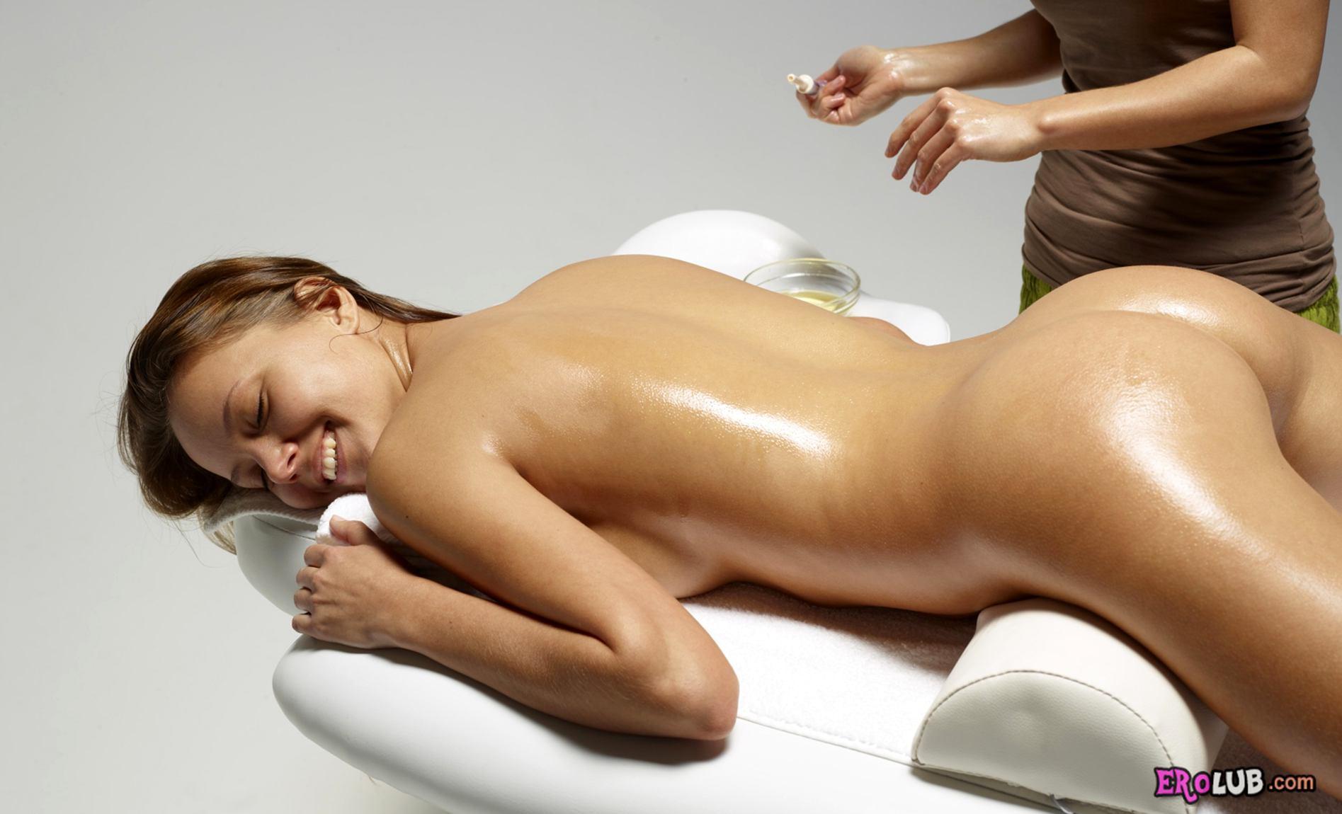 Эротический массаж с маслом фото 18 фотография