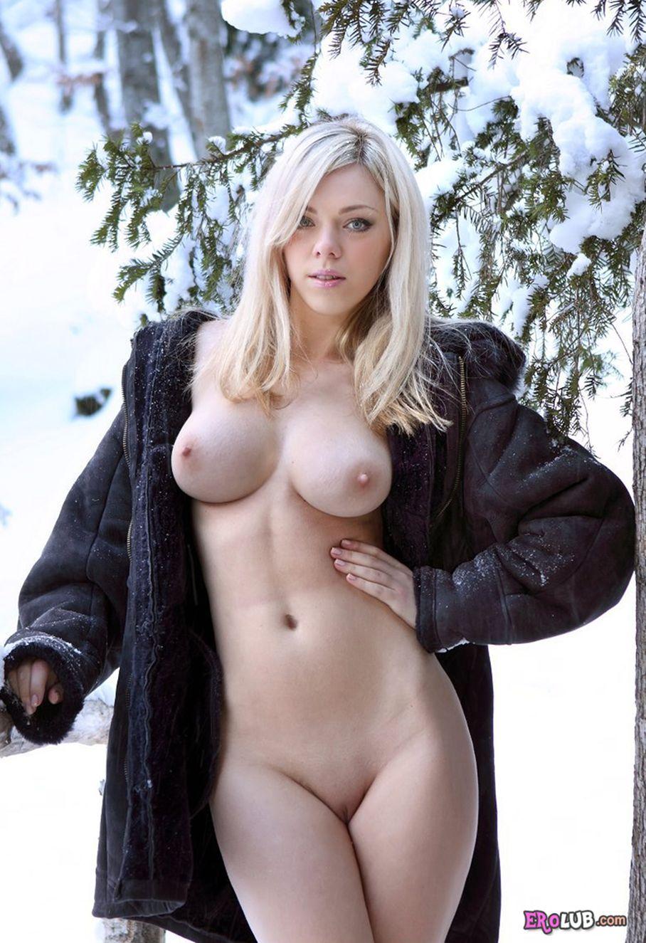 Порно красавицы в зимнем лесу фото 25-657